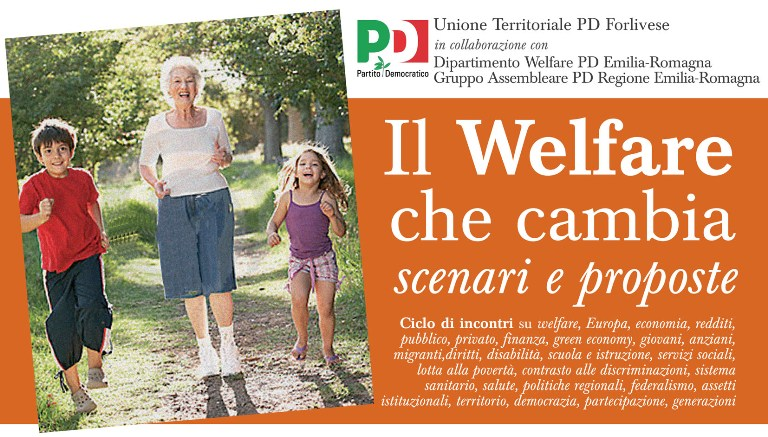 "Ciclo di incontri ""Il welfare che cambia"" – Materiali, documenti, video"