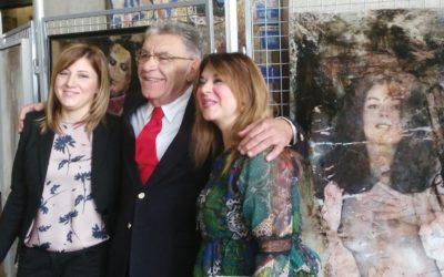 In Regione le opere di Ido Erani contro la violenza alle donne