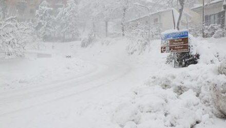 """Valmarecchia in ginocchio per la neve   Rossi (Pd): """"I danni da maltempo sono diventati ordinari, servono manutenzioni costanti"""""""