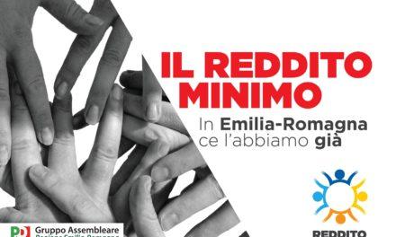 """""""L'Emilia Romagna rafforza il reddito di solidarietà, che diventa un vero e proprio reddito minimo""""."""