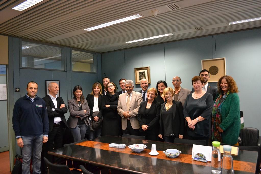 Incontro con delegazione Saharawi: confermare e rafforzare collaborazione e amicizia
