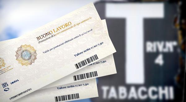 Riscossione voucher: interrogazione di Bagnari e Marchetti