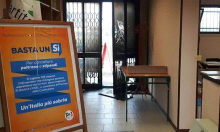 """Attentato a sede PD Modena. """"Ferma condanna, solidarietà al Circolo"""""""