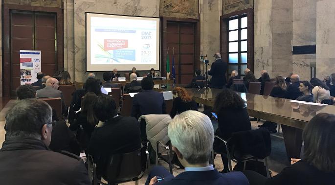 Gianni Bessi alla Conferenza stampa OMC 2017