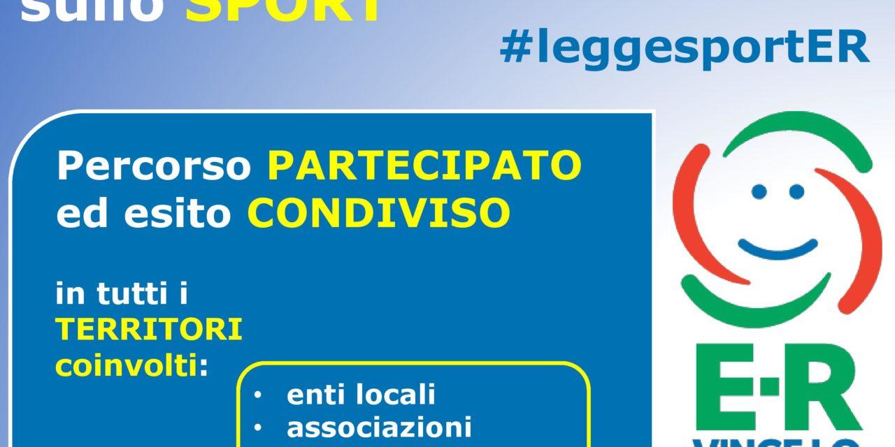 Sport. Presentato in Regione il nuovo progetto di legge