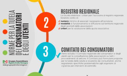"""Approvata la nuova legge regionale per la tutela dei consumatori. Bagnari: """"Una legge importante in questo momento"""""""