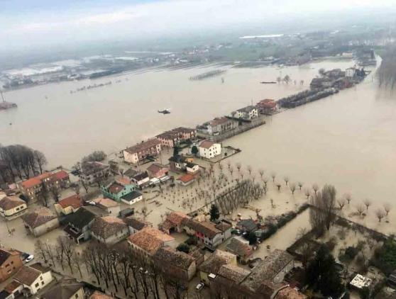 """Alluvione Lentigione e Brescello. Mori: """"Ritardi nei risarcimenti, Regione al fianco dei cittadini colpiti"""""""