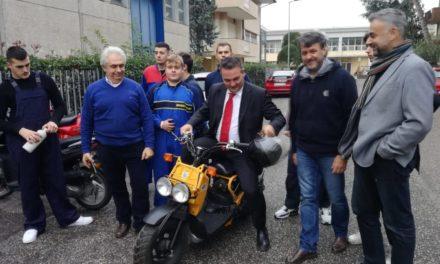 Donini e Pruccoli all'Ipsia Alberti di Rimini