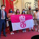 Stop IVA sugli assorbenti, grande partecipazione ieri alla tappa riminese del Tampon Tax Tour